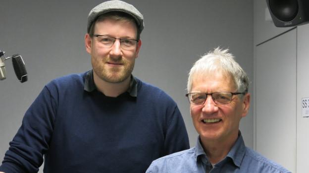 «Ädu» Baumgartner und Ruedi Stuber