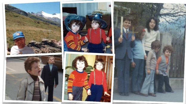Aus dem Familienalbum der Infantinos: Gianni, damals noch ein Lockenkopf.