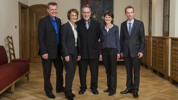 Viele Stimmen, ein Gremium: der Berner Gemeinderat.
