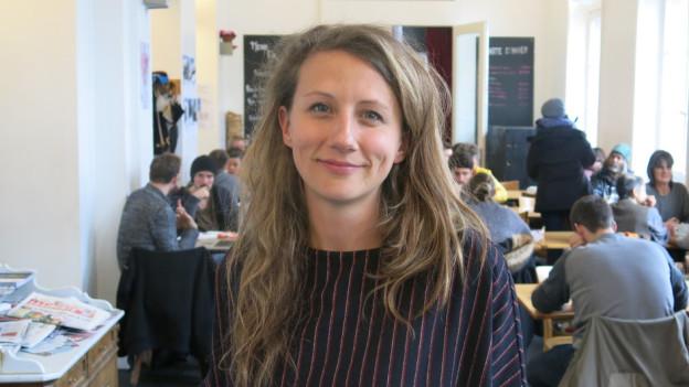 Aline Schmid: «Ich habe mich als Frau nie benachteiligt gefühlt.»