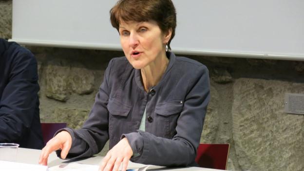 Franziska Teuscher ist seit 2013 in der Berner Stadtregierung.