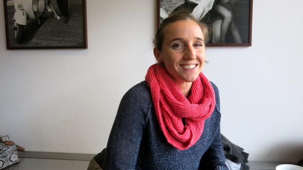«Stabhochsprung ist wie Roulette. Einmal kommt schwarz, dann kommt rot»: Nicole Büchler.