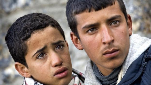 Kinder und Jugendliche leiden besonders unter den Folgen einer Flucht.