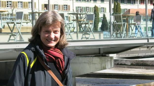 Britta Sweers wohnt seit gut sieben Jahren in Bern.