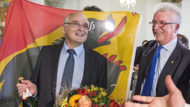 Pierre Alain Schnegg schafft für die SVP die Wende.