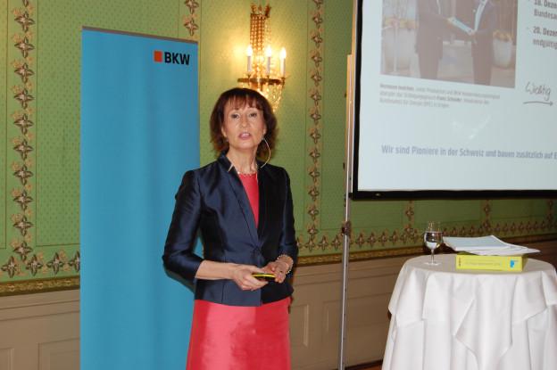 Zu sehen ist BKW-Chefin Suzanne Thoma.