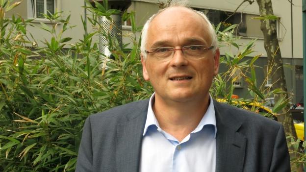 Pierre Alain Schnegg am Tag nach der Wahl in Biel.
