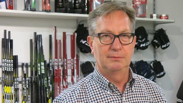 Interhockey-Firmenchef Roland Gerber.