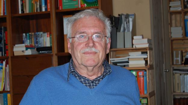Schriftsteller und Politiker Peter Beutler.