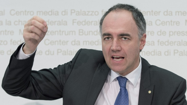 Zu sehen ist CVP-Parteipräsident Christophe Darbellay.