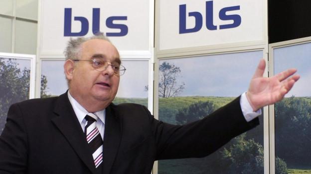 Zu sehen ist der langjährige BLS-Direktor Mathias Tromp.