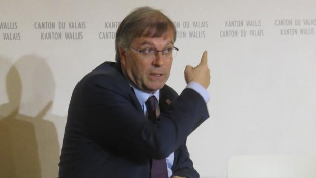 Staatsrat Jean-Michel Cina.