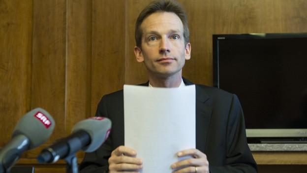 Alexandre Schmidt will Berner Stadtpräsident werden.