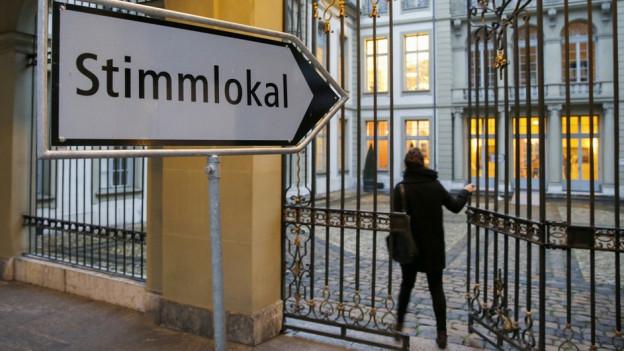 Stimmlokal Erlacherhof Bern