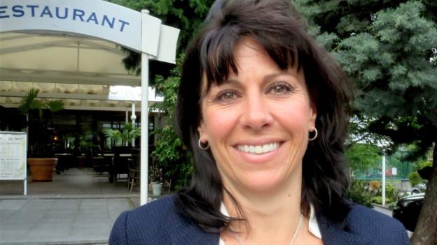 Marcelline Kuonen, Leiterin Tourismus bei Valais/Wallis Promotion.