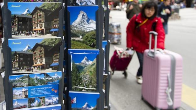 Bei Touristen nach wie vor beliebt – die malerischen Sujets des Kantons Wallis.