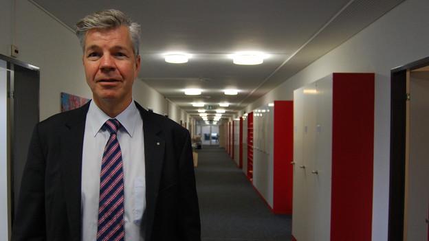 Portrait Thomas Remund, Leiter der Meldestelle Whistleblowing des Kantons Bern.