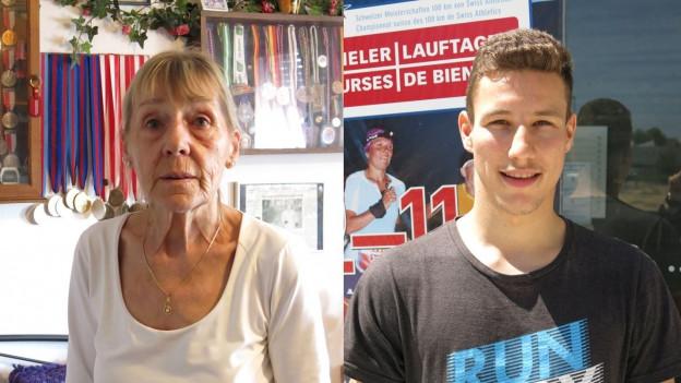 Rosmarie Marolf (73) lief ihren bereits 30. 100-Kilometer-Lauf. Neuling Yannick Oberson (24) musste aufgeben.