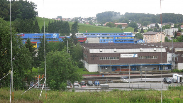 Industriezone in Schmitten