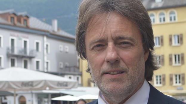 Der Walliser Ökonom Thomas Gsponer.