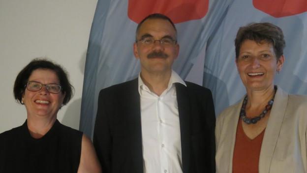 Ein Trio will für die Freiburger SP in den Staatsrat.
