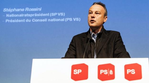 Der ehemalige Nationalratspräsident Stéphane Rossini