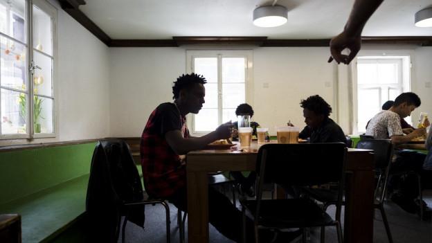 Unbegleitete minderjährige Asylsuchende, hier in Davos