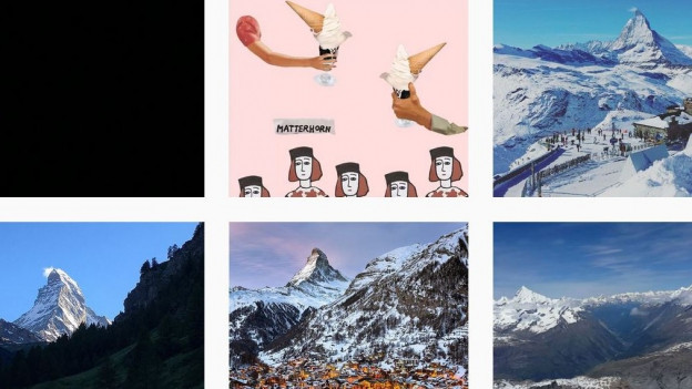 Beliebtes Sujet: Rund 190'000 Fotos sind auf Instagram mit dem Vermerk «Matterhorn».