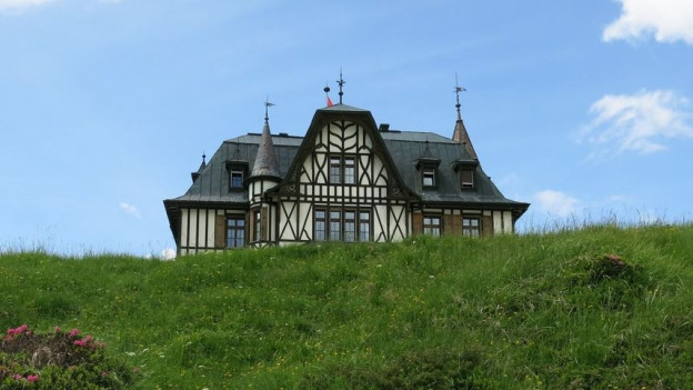 Die Villa Cassel.