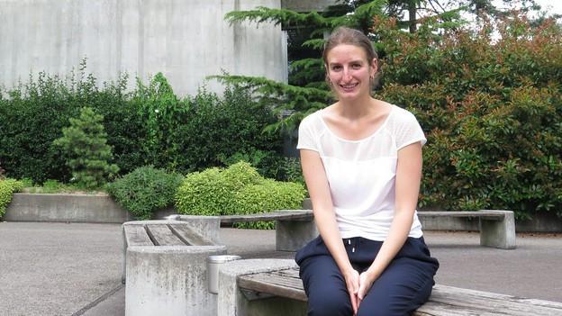 Die 26-jährige Französin Josephine Cinqualbre lebt seit zweieinhalb Jahren in Bern.