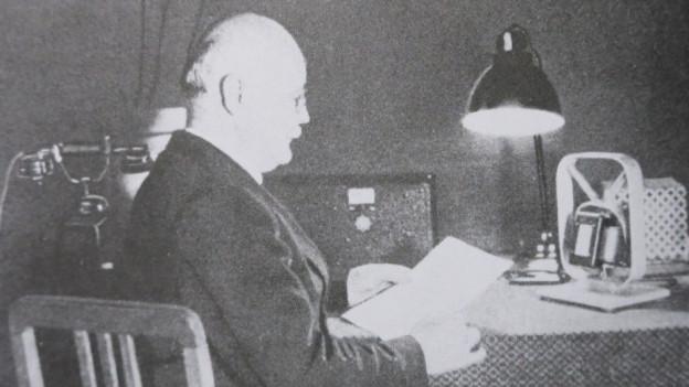 Der Sprechraum der SDA bis 1936
