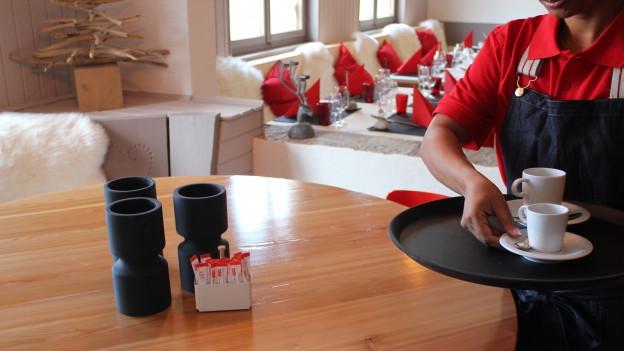Restaurant Chamoson - Projekt für Asylsuchende und Sozialhilfeempfänger.