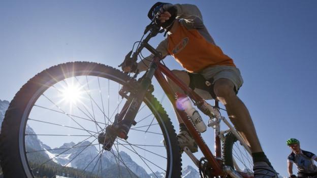 Das Wallis setzt im Sommer auf die Mountainbiker.