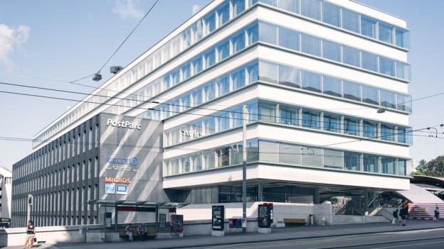Das neue Konzeptzentrum «Welle 7» beim Bahnhof Bern