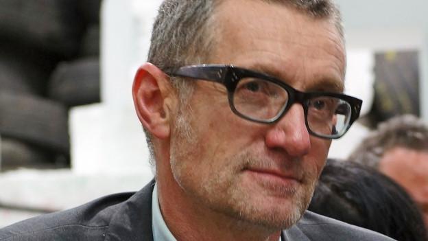 Der Schweizer Künstler Thomas Hirschhorn.