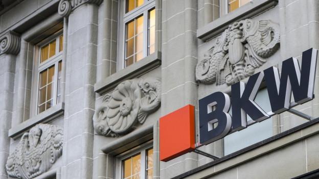 Der Hauptsitz der BKW in Bern.