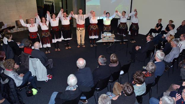 Die südserbische Gruppe Verem 2014 zu Besuch in Köniz.
