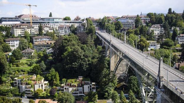 Bern soll eine ÖV-und Velostadt werden.