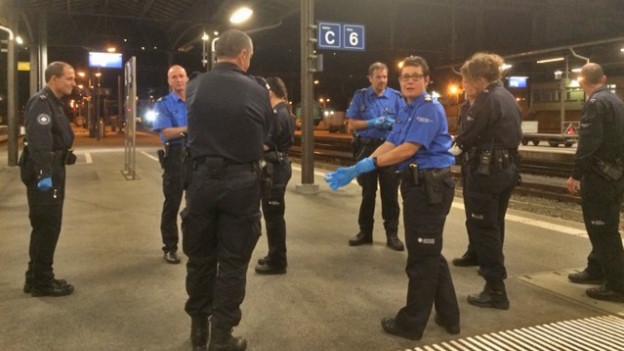 Grenzkontrolle Brig Nachtzug