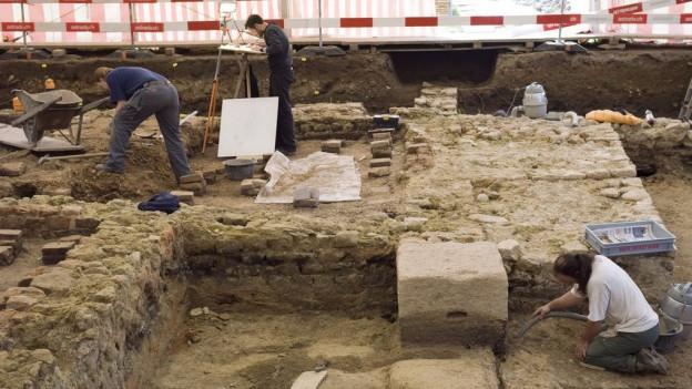 Im Kallnachwald werden Archäologen die Arbeit aufnehmen können – so wie 2008 bei einer römischen Villa ganz in der Nähe.