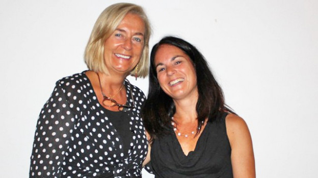 Die beiden Organsatorinnen, Referentin Christina Ligthart (links) und Ursula Stüdi vom Amt für Gleichstellung und Familie.