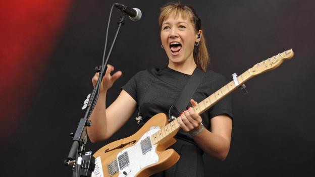 Sophie Hunger, die Gewinnerin des Schweizer Musikpreises 2016.