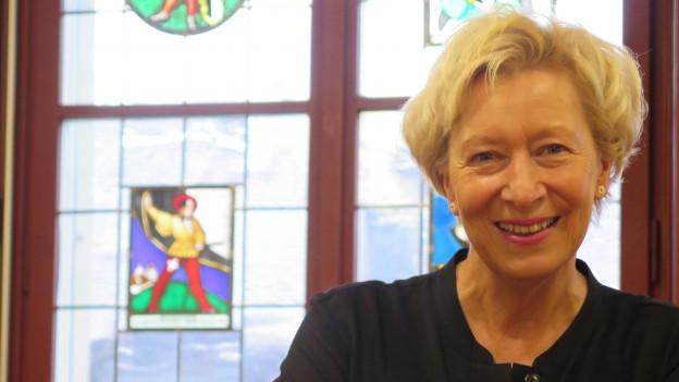 Die Burgdorfer Stadtpräsidentin Elisabeth Zäch.