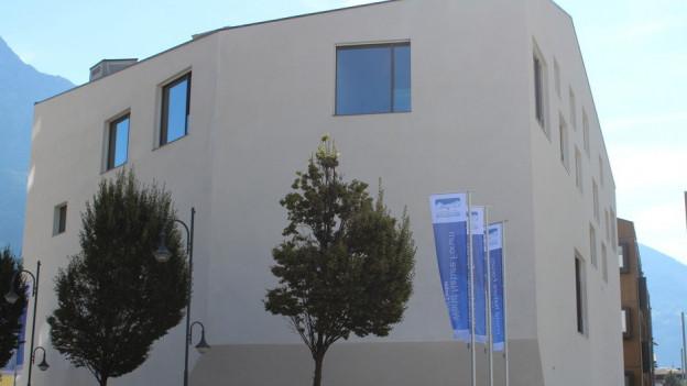 Das neue Besucherzentrum des Unesco Welterbes steht in Naters, nur wenige Minuten vom Bahnhof Brig entfernt.