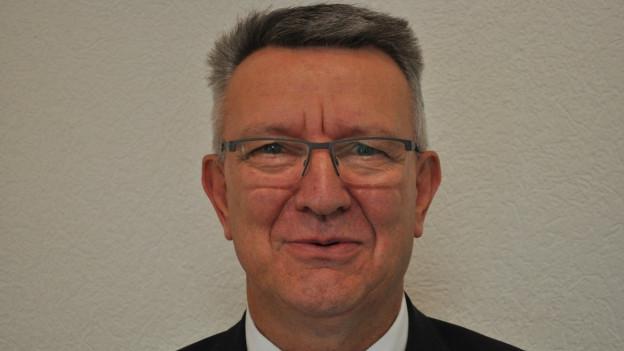 Georges Godel, Finanzdirektor des Kantons Freiburg