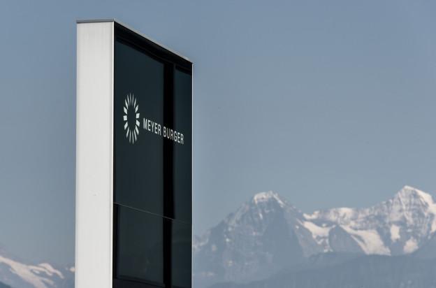 Hauptsitz von Meyer Burger in Thun.