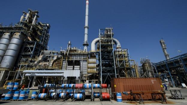 Die Tamoil-Raffinerie: Seit März 2015 ist der Betrieb eingestellt.