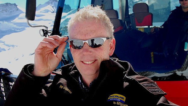 Unternehmer Jörg Studer möchte viele Skigebiete für seine Idee begeistern.