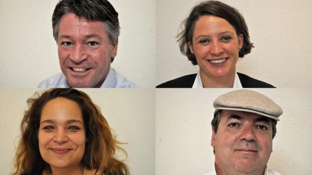 Vier Kandidierende für den Freiburger Staatsrat