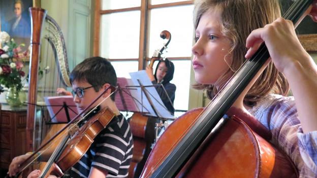 In der Villa Joliment finden Musikferienwochen statt.